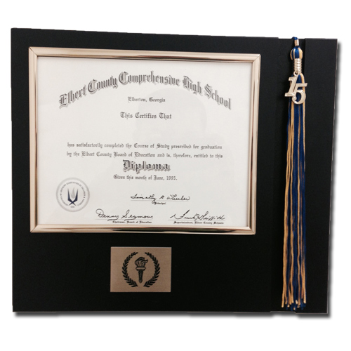Diploma Tassel Display – J&S Campus Supply